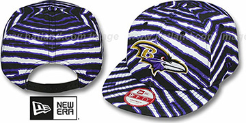 Ravens 'NFL ALL-OVER ZUBAZ SNAPBACK' Hat by New Era