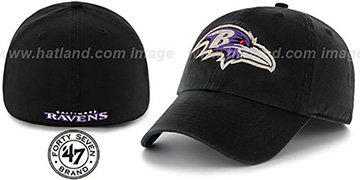 Ravens NFL FRANCHISE Black Hat by 47 Brand