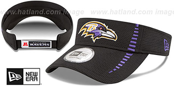 Ravens 'SPEED-VISOR' Black by New Era