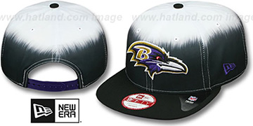 Ravens 'SUBLENDER SNAPBACK' Black-White Hat by New Era