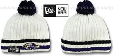 Ravens YESTER-YEAR Knit Beanie Hat by New Era