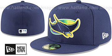 Rays AC-ONFIELD ALTERNATE Hat by New Era