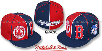 Red Sox '1975 DOUBLE-PLAY' Red-Navy Fitted Hat