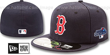 Red Sox '2013 POSTSEASON' GAME Hat by New Era