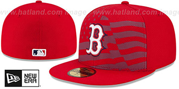 Red Sox 2015 JULY 4TH STARS N STRIPES Hat by New Era