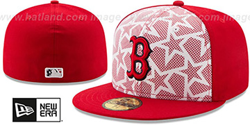 Red Sox 2016 JULY 4TH STARS N STRIPES Fitted Hat by New Era