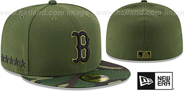 Red Sox 2017 MEMORIAL DAY STARS N STRIPES Hat by New Era