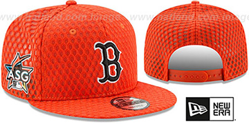 Red Sox '2017 MLB HOME RUN DERBY SNAPBACK' Orange Hat by New Era
