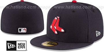 Red Sox 'AC-ONFIELD ALTERNATE' Hat by New Era