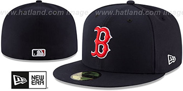 Red Sox AC-ONFIELD GAME Hat by New Era