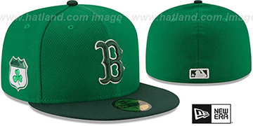 Red Sox '2017 ST PATRICKS DAY' Hat by New Era