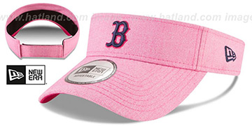 Red Sox '2018 MOTHERS DAY VISOR' Heather Pink by New Era
