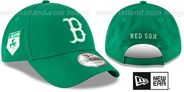 Red Sox 2018 ST PATRICKS DAY 940 STRAPBACK Hat by New Era