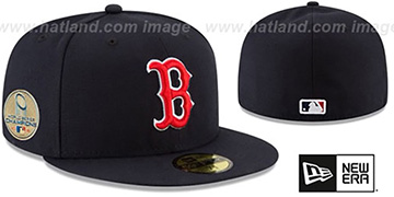 Red Sox 2018 WORLD SERIES CHAMPIONS GAME Hat by New Era