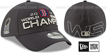 Red Sox 2018 WORLD SERIES CHAMPS Flex Hat by New Era