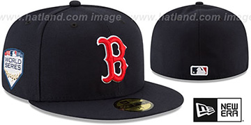 Red Sox 2018 WORLD SERIES GAME Fitted Hat by New Era