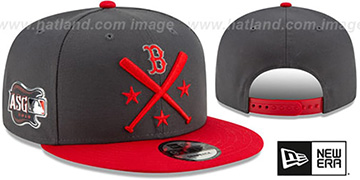 Red Sox 2019 MLB ALL-STAR WORKOUT SNAPBACK Hat by New Era
