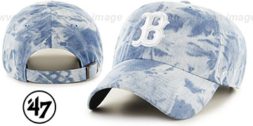 Red Sox 'ACID WASH STRAPBACK' Hat by Twins 47 Brand