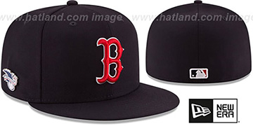 Red Sox 'AL EAST HERITAGE PIN' Fitted Hat by New Era