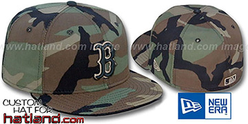Red Sox 'ARMY CAMO' Fitted Hat by New Era