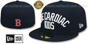 Red Sox CARDIAC KIDS Navy Fitted Hat by New Era