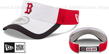 Red Sox COLOR-BLOCK VISOR by New Era
