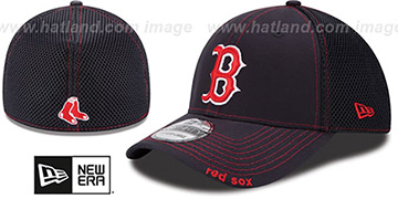 Red Sox 'CONTRAST NEO MESH' Navy Flex Hat by New Era