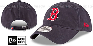 Red Sox 'CORE-CLASSIC STRAPBACK' Navy Hat by New Era