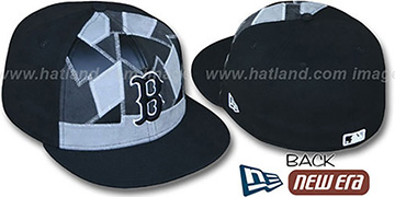 Red Sox CUT N PASTE Fitted Hat by New Era