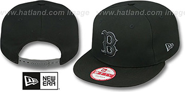Red Sox 'FADEOUT SNAPBACK' Black-Grey Hat by New Era