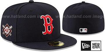 Red Sox 'JACKIE ROBINSON' GAME Hat by New Era