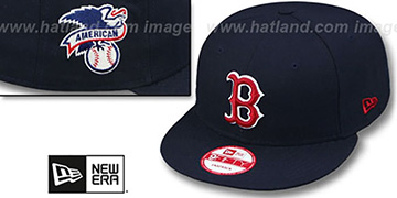 Red Sox 'LEAGUE REPLICA GAME SNAPBACK' Hat by New Era