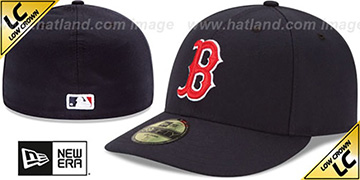 Red Sox 'LOW-CROWN' GAME Fitted Hat by New Era