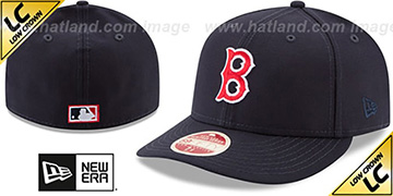 Red Sox LOW-CROWN VINTAGE Fitted Hat by New Era