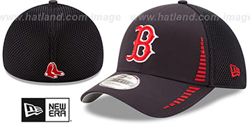 Red Sox 'NEO SPEED MESH-BACK' Navy Flex Hat by New Era