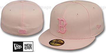 Red Sox PINKOUT Fitted Hat by New Era