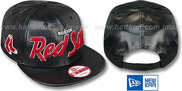 Red Sox REDUX SNAPBACK Black Hat by New Era