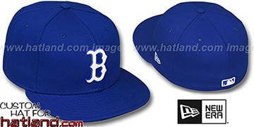 Red Sox 'ROYAL-WHITE' Fitted Hat by New Era