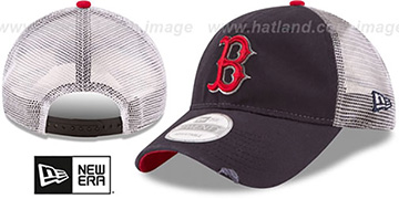Red Sox 'RUSTIC TRUCKER SNAPBACK' Hat by New Era