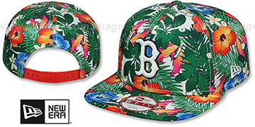 Red Sox SUNSHINE BLOOM SNAPBACK Hat by New Era