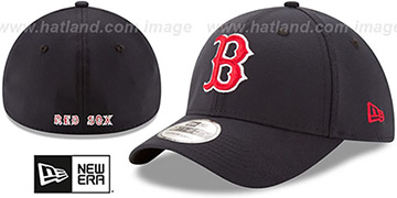 Red Sox 'TEAM-CLASSIC' Navy Flex Hat by New Era