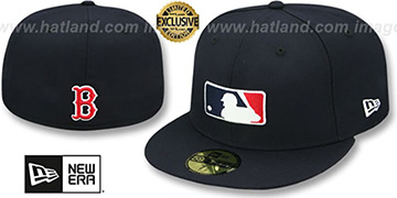 Red Sox TEAM MLB UMPIRE Navy Hat by New Era
