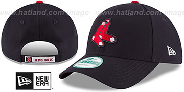 Red Sox 'THE-LEAGUE ALTERNATE STRAPBACK' Navy Hat by New Era