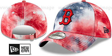 Red Sox TIE-DYE STRAPBACK Hat by New Era