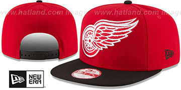 Red Wings 'LOGO GRAND REDUX SNAPBACK' Red-Black Hat by New Era