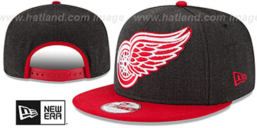 Red Wings 'LOGO GRAND SNAPBACK' Charcoal-Red Hat by New Era