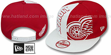 Red Wings 'NE-NC DOUBLE COVERAGE SNAPBACK' Hat by New Era