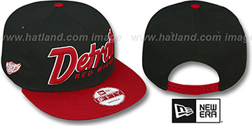 Red Wings 'SNAP-IT-BACK SNAPBACK' Black-Red Hat by New Era