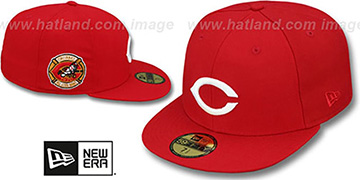 Reds 1970 'SIDE ALL-STAR-PATCH' Fitted Hat by New Era