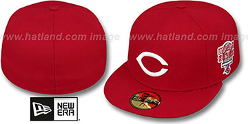 Reds 1976 WORLD SERIES CHAMPS GAME Hat by New Era